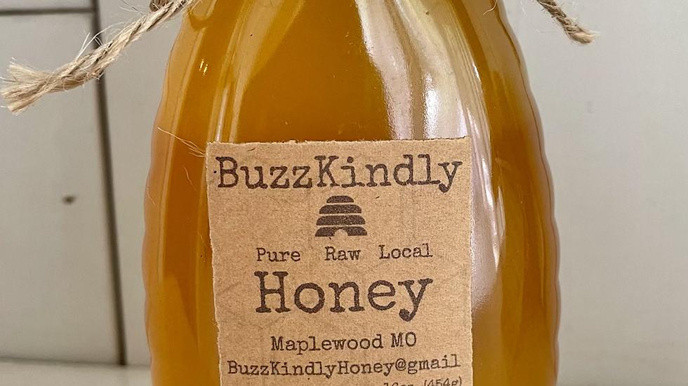 BuzzKindly Missouri Honey 16 oz (1 LB) Squeeze