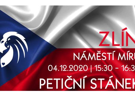 Pozvánka: Petiční akce Občanského hnutí – 4. 12. 2020 od 15:30.