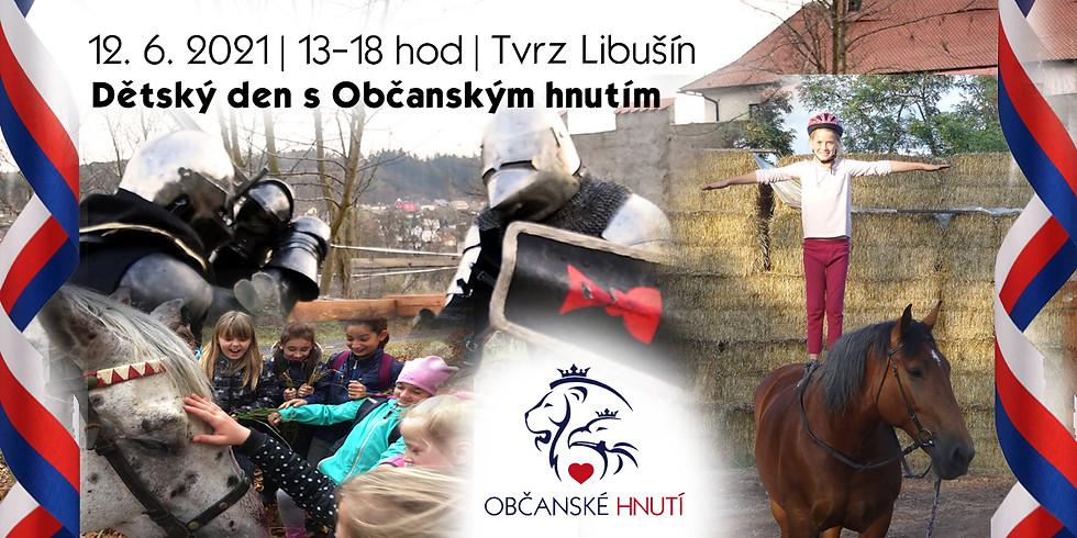 Dětský den na Libušínské Tvrzi