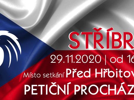Pozvánka: Informativní procházka Občanského hnutí – 29. 11. 2020 od 16 hod.