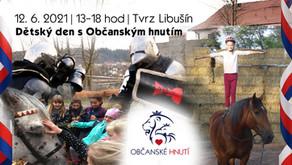 Pozvánka: Dětský den! – 12. 6. 2021 od 13hod - TVRZ LIBUŠÍN