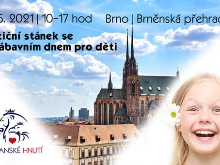 Pozvánka: Petiční stánek se zábavním dnem pro děti – 29. 5. 2021 od 10hod - BRNO