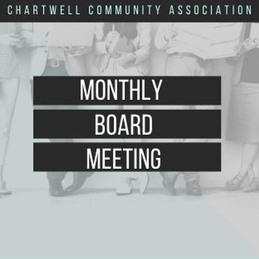 CCA April Board Meeting