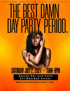 BEST. DAMN. DAY PARTY.