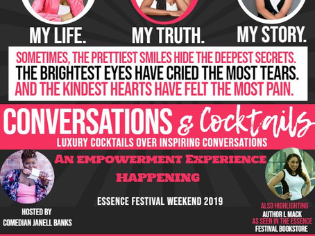 """PRESS RELEASE: A Powerful """"Conversation & Cocktail"""" Empowerment Event, """"My Life. My Truth. My St"""