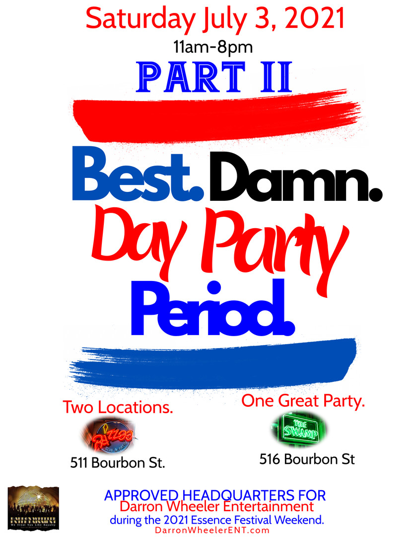 BEST DAMN DAY PARTY PART 2