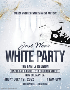 Just Wear White Party