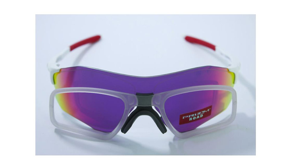 Oakley EV Zero Clear colored wide clip with adapters