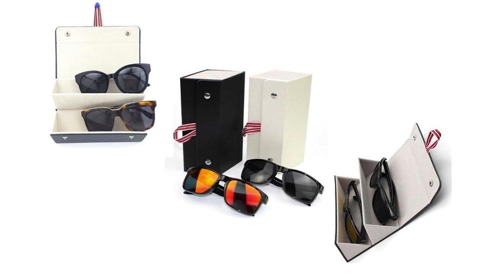 Sunglasses, glasses cases for traveling
