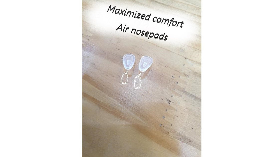 Comfortable air nose pads
