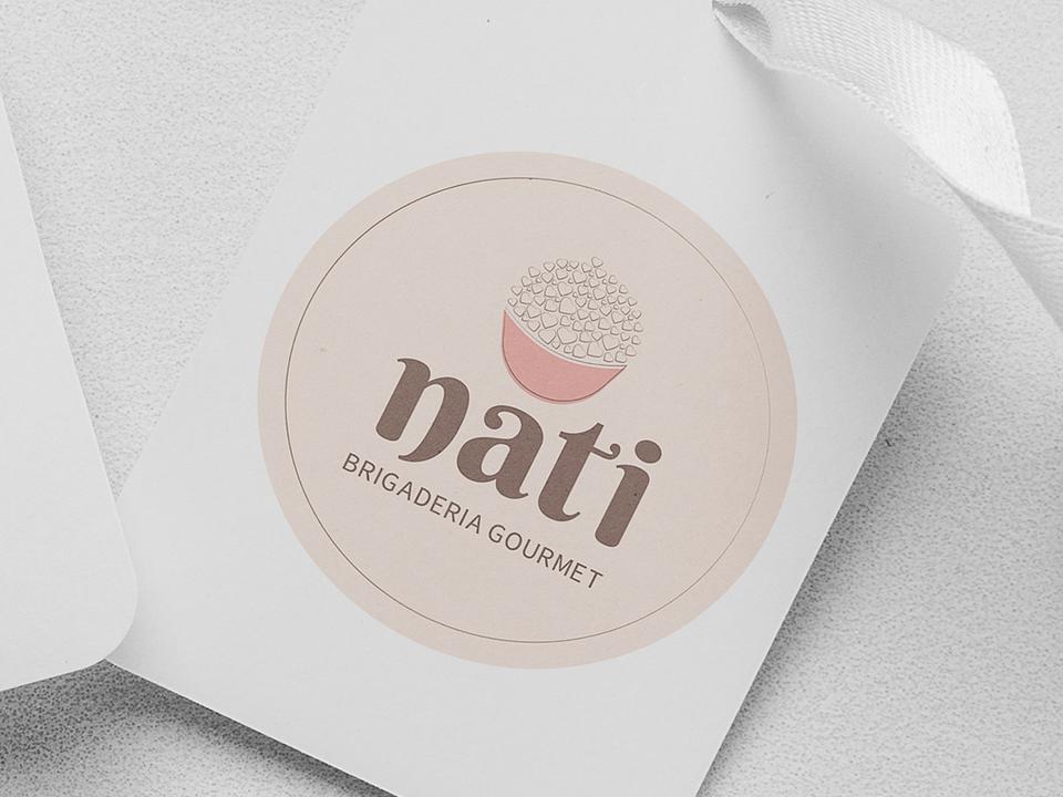 Identidade Visual - Nati Brigaderia Gourmet