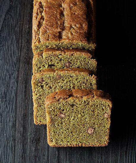 Matcha Azuki Cake [gluten-free]