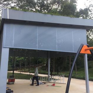 Perforated Rain Screen