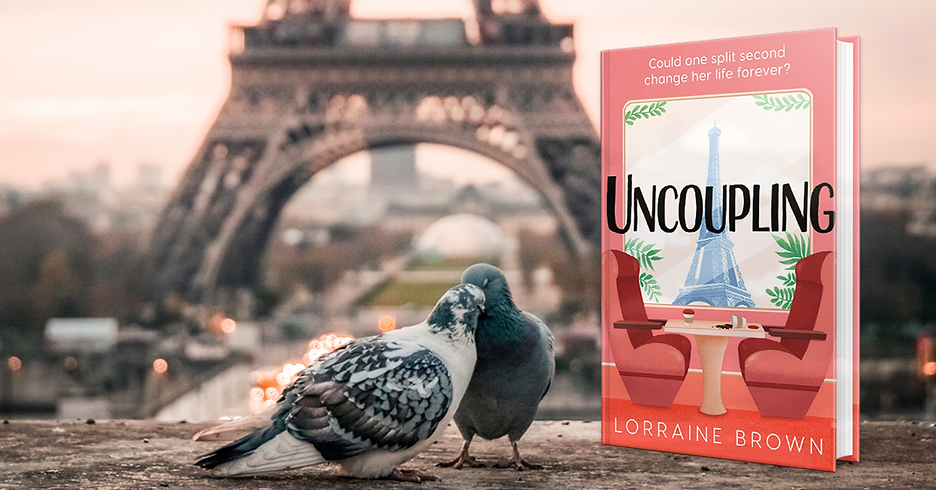 Paris with pigeons and Lorraine Brown Uncoupling book