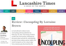 Lancashire Times Review of Uncoupling