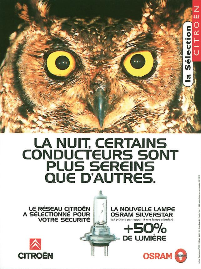 Campagne d'affichage Citroën