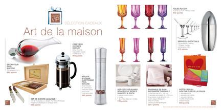 Catalogue Cadeaux