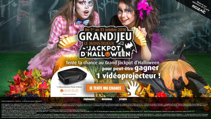 Home page Grand Jeu Crédit Agricole