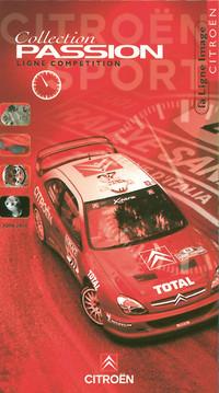 Catalogue Citroën Sport Produits dérivés