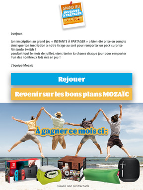 Lettre Mailing CA