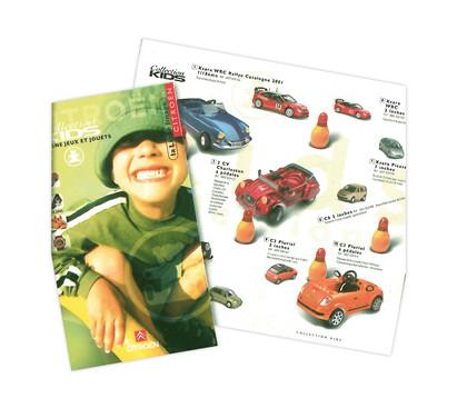 Catalogue Citroën Jouets