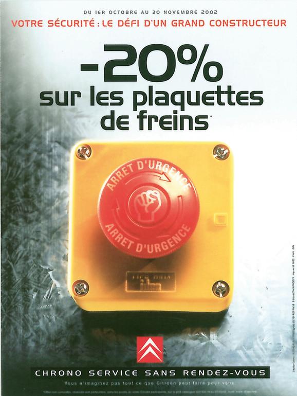 Campagne d'affichage Citroën Après vente