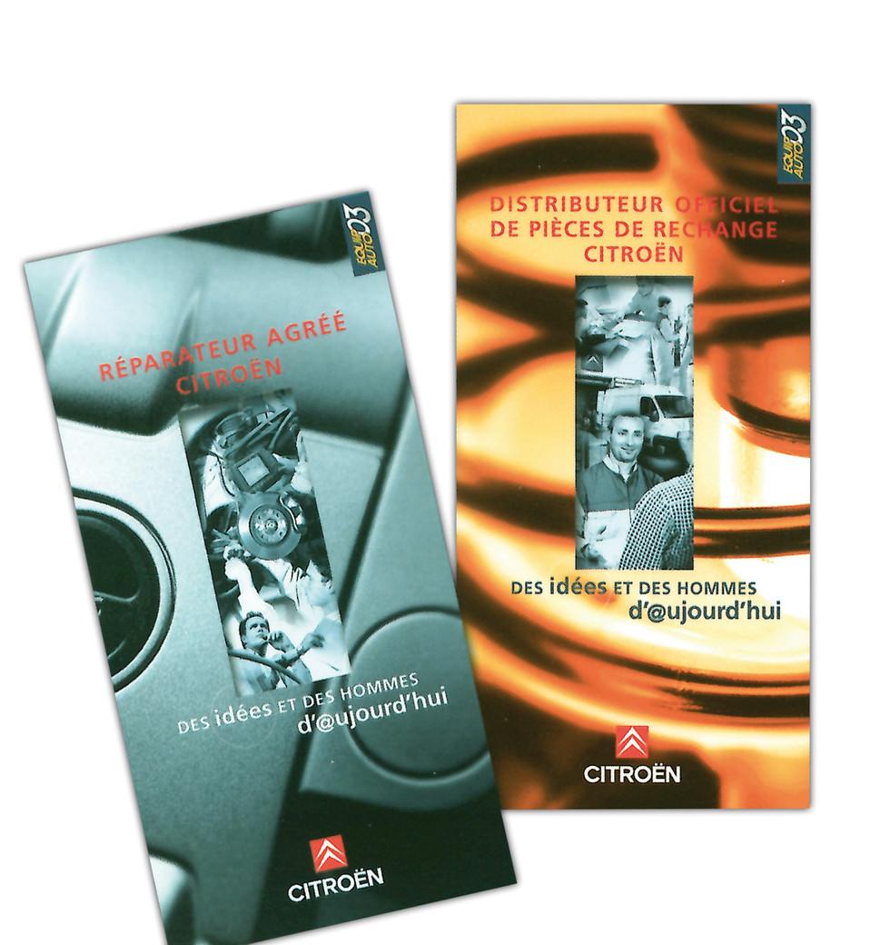 Brochure de recrutement métiers Citroën