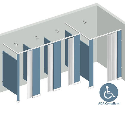 SP STALLS - Commercial Shower Partitions