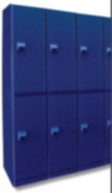Blue Plastic locker