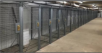 SP STALLS - Wire Mesh Storage Partition