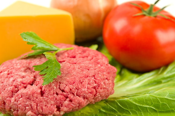 Premium Ground Beef 15 lbs. $6.99/lb.