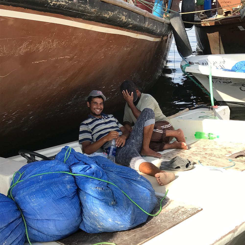 Kuwait Fishermen