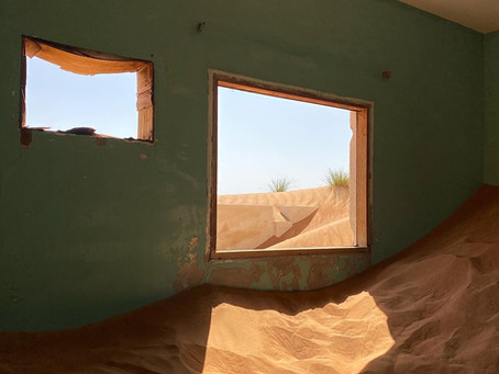 In search of the Ghost Village being consumed by the Arabian desert
