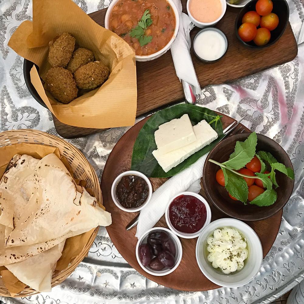 Falafel breakfast Souq Al Mubarakiya Kuwait