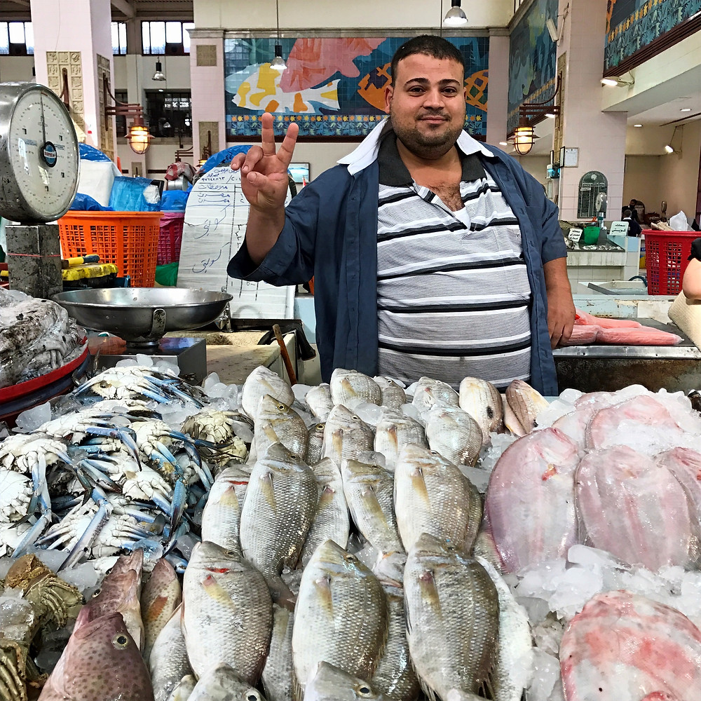 Fish market Kuwait