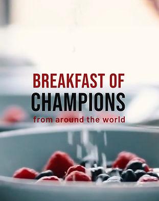 Breakfast of Champions Nicola Chilton Co