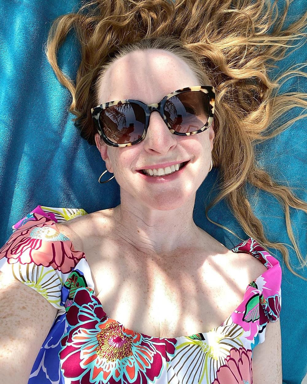 Nicola Chilton at Drift Beach Club in Dubai