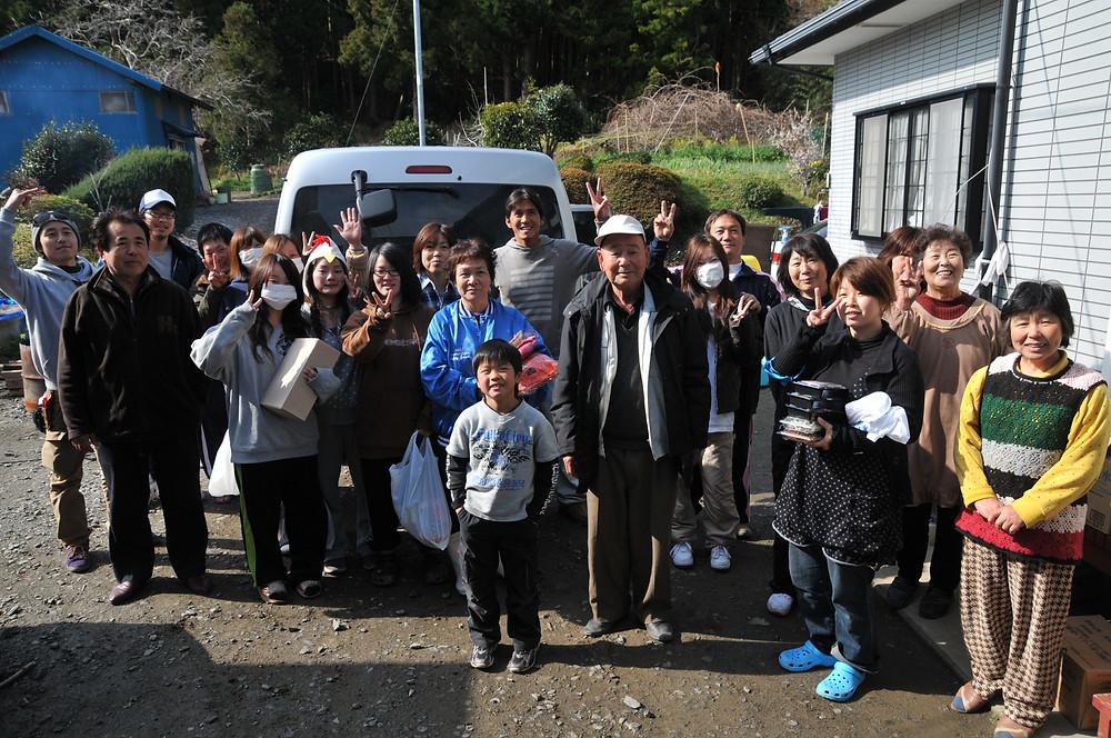 Residents of Kobuchihama, Japan