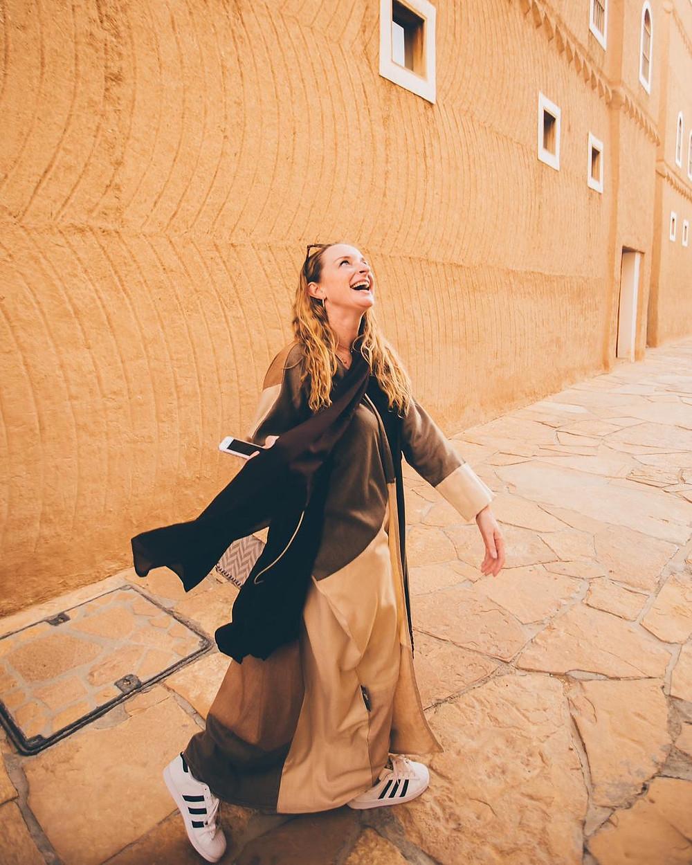 Nicola Chilton in Riyadh, Saudi Arabia