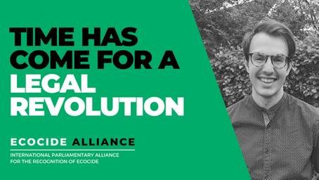 Holmström i globalt nätverk mot ekocid