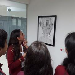 Exposición de las obras en la ciudad de Bogotá los días 21 y 22 de marzo de 2018. Lugar Galería ARCOT