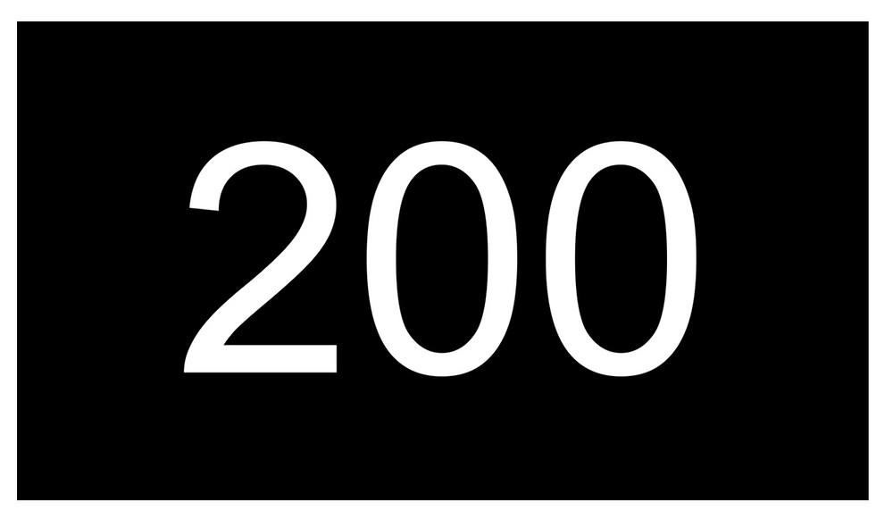 200 air squats