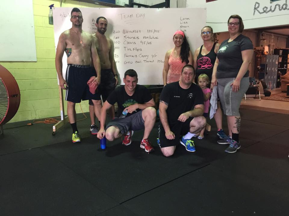 Team Day Crossfit Zoo