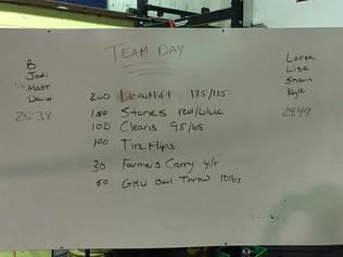 5/21/16 Team Day