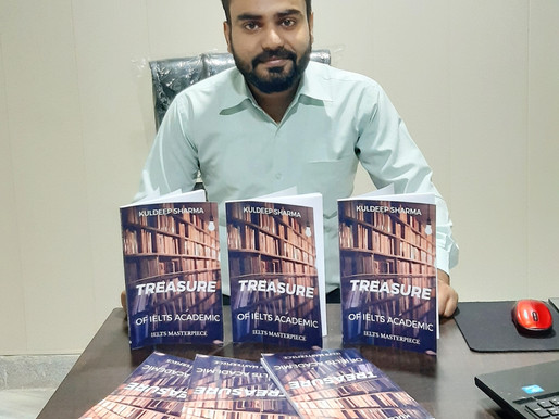 An Interview With Kuldeep Sharma, Author and IELTS & PTE Trainer