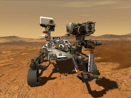 NASA PERSEVERANCE ROVER: Cooling Communication In The Air