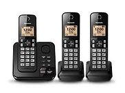 telefonos inalambricos Panasonic, Alcatel e Intelbras