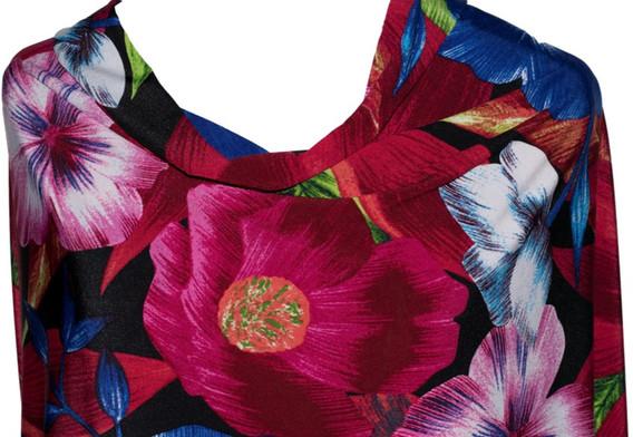 Knit Floral Print