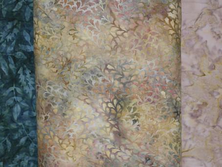 New Batik Quilt Fabrics