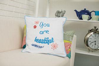 Embroidered Pillow, Designer Plus Digitizing Software